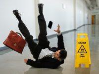 תאונות החלקה/ תאונות נפילה